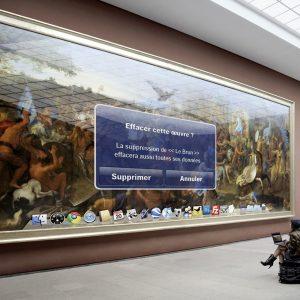 art game «La suppression», edition de 2/5