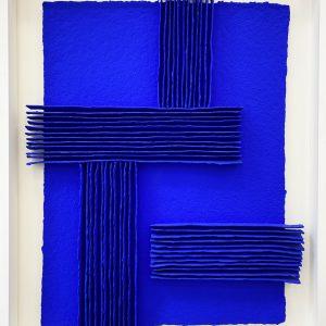 8 – Calicots et pigment bleu outremer
